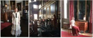 Opnames voor filmpje over Elisabeth Bentinck op Kasteel Amerongen