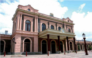 Ingang spoorwegmuseum