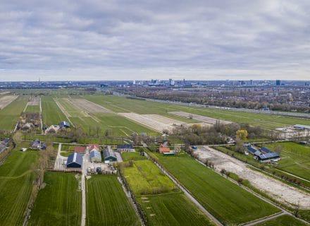 Luchtfoto Polder Rijnenburg